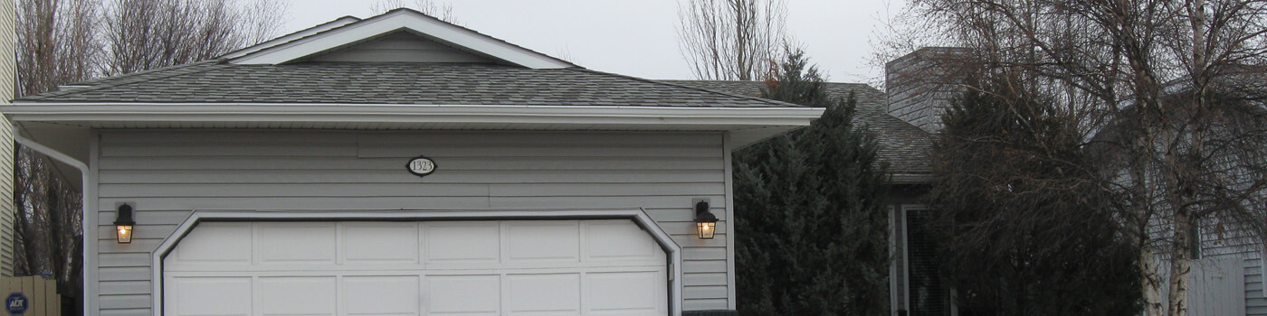 garage and roof
